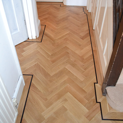 Parquet Floor Laying