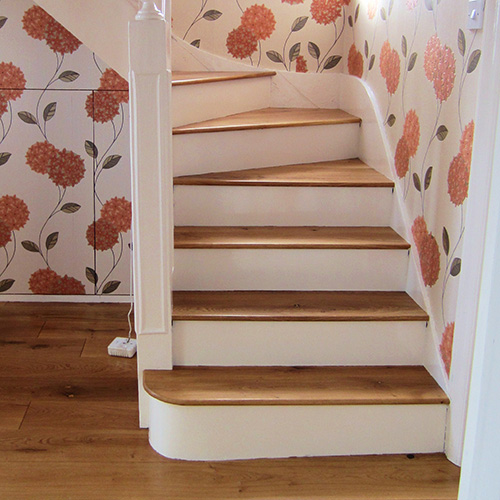 Solid Wooden Steps