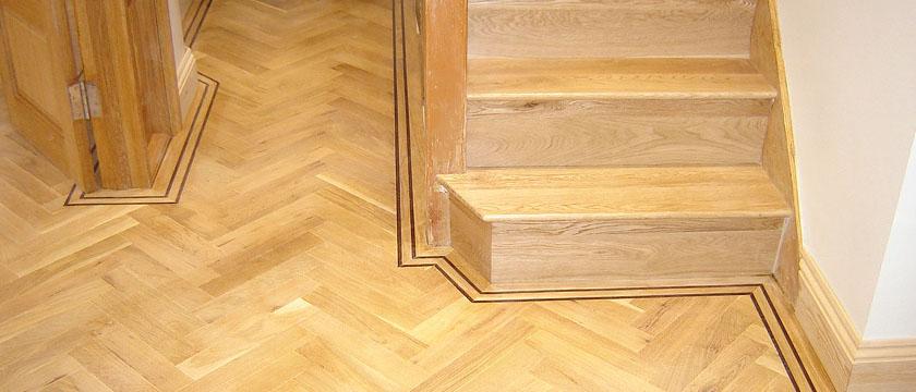Solid Wooden Steps